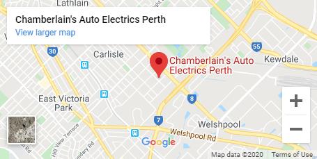 Chamberlain Auto Electrics Location